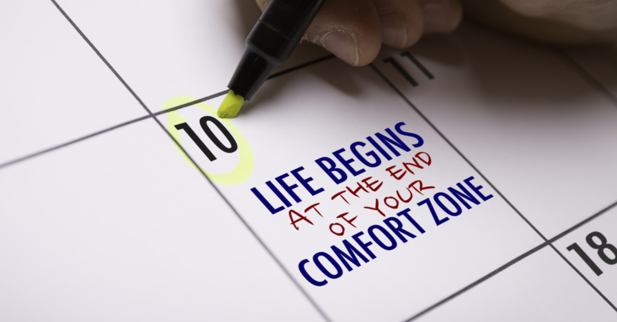 """Life begins at the end of your comfort zone."" - Neale Donald Walsch"