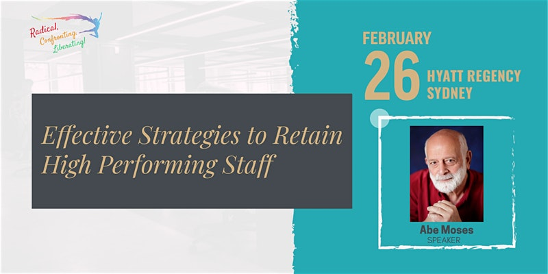 Event Flyer Effective Strategies to Retain High Performing Staff